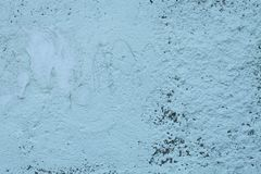 Old blue textures wall background. Perfect background with space.  stock images