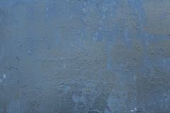 Old blue textures wall background. Perfect background with space.  stock photography