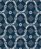 Old blue vintage texture Royalty Free Stock Photos