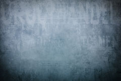 Old blue wall background Royalty Free Stock Photo