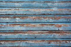 Old blue wood Stock Photos
