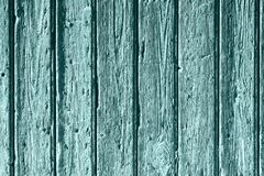 Old blue wood background Stock Photography