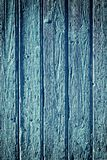 Old blue wood background with vignette Royalty Free Stock Photo