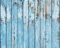 Old blue wood plank background. Royalty Free Stock Images
