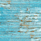 Old blue wood plank background. Stock Images