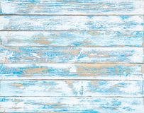 The old blue wood texture with natural patterns stock image