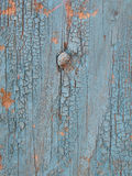 Old blue wood wall Stock Photos