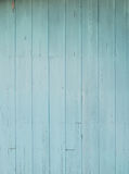 Old blue wood wall stock image
