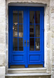 The old blue wooden door Royalty Free Stock Image