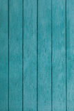 Old blue wooden fence Royalty Free Stock Photos