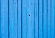 Old blue wooden plank background Royalty Free Stock Image