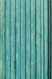 Old Blue Wooden Planks, background Royalty Free Stock Images