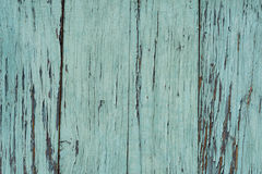 Old blue wooden table with grunge, abstract texture background. Royalty Free Stock Images