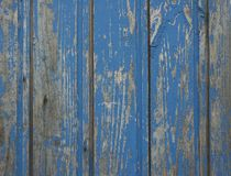Old blue wooden wall Royalty Free Stock Photography