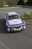 Old BMW racing Royalty Free Stock Photo