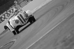 Old BMW on the track of Le Mans Stock Image