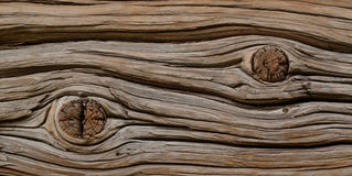 Old board with a knot Royalty Free Stock Images