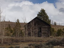 Old Boarded up Home in Leadville CO Stock Photos