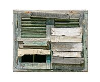 Old boarded up window Royalty Free Stock Photography