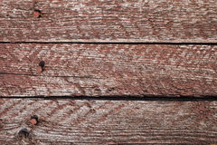Old boards with nails. Stock Photo