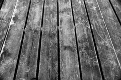 Old Boards. Of one of the piers in Sopot, Poland Royalty Free Stock Photo