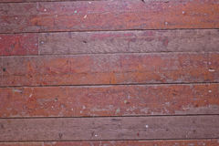 Old boards with shabby paint Royalty Free Stock Photo