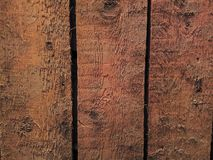 Old boards. Three obsolete boards on the wall Stock Photography