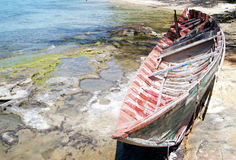 Old boat. An old boat stock image