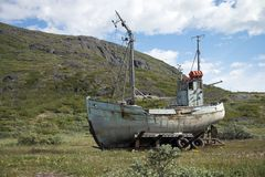 Free Old Boat Royalty Free Stock Photography - 41090217