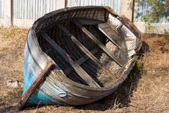 Old boat. Old ruined boat Royalty Free Stock Image