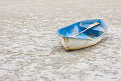 Old boat on the beach. Stock Images