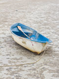 Old boat on the beach. Royalty Free Stock Image