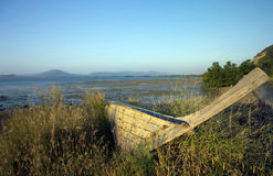 Old Boat, Cape Yamu Royalty Free Stock Photos
