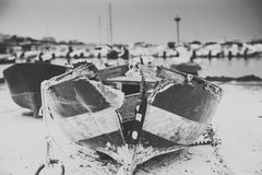 Old boat stock images