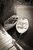 Old Boat on Lake Royalty Free Stock Image