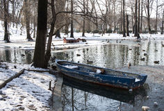 Old boat - RAW format Royalty Free Stock Photo