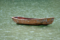 Old boat in a sea Royalty Free Stock Photography