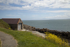 Old Boat Shed, Moelfre Royalty Free Stock Photo