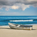 Old Boat on the Shore Stock Photography
