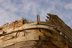 Old Boat Wreck Royalty Free Stock Image