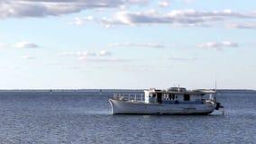 Old Boat Zoom stock video