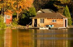 Old boathouse Stock Image