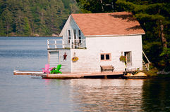 Old boathouse Stock Photography