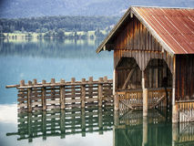 Old boathouse Royalty Free Stock Image