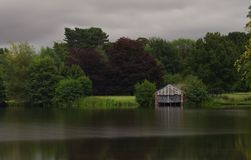 The old boathouse Royalty Free Stock Images