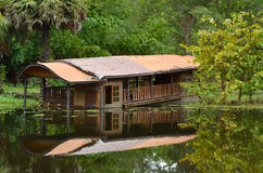 Old Boathouse. Resort Old South Stock Image