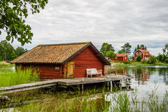 Old boathouse Royalty Free Stock Image