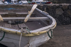 Old boats. In El Cothillo harbor Royalty Free Stock Photos
