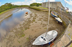Old boats in Ireland  county Stock Photo