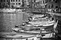 Old boats. In old town Royalty Free Stock Image
